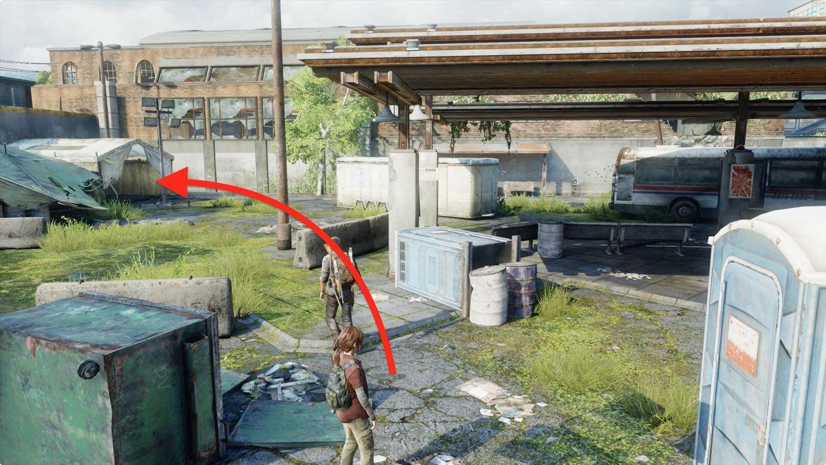 Guía de ubicaciones coleccionables de The Last of Us 'Bus Depot'