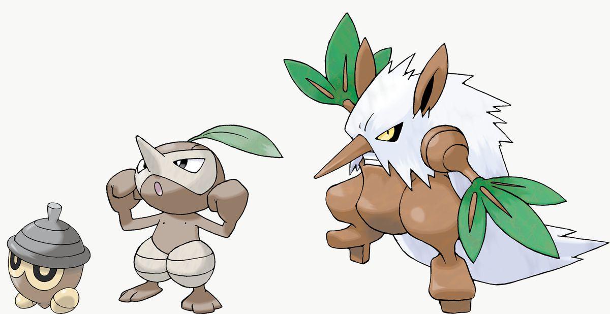 Seedot, Nuzleaf y Shiftry son exclusivos de Pokémon Sword