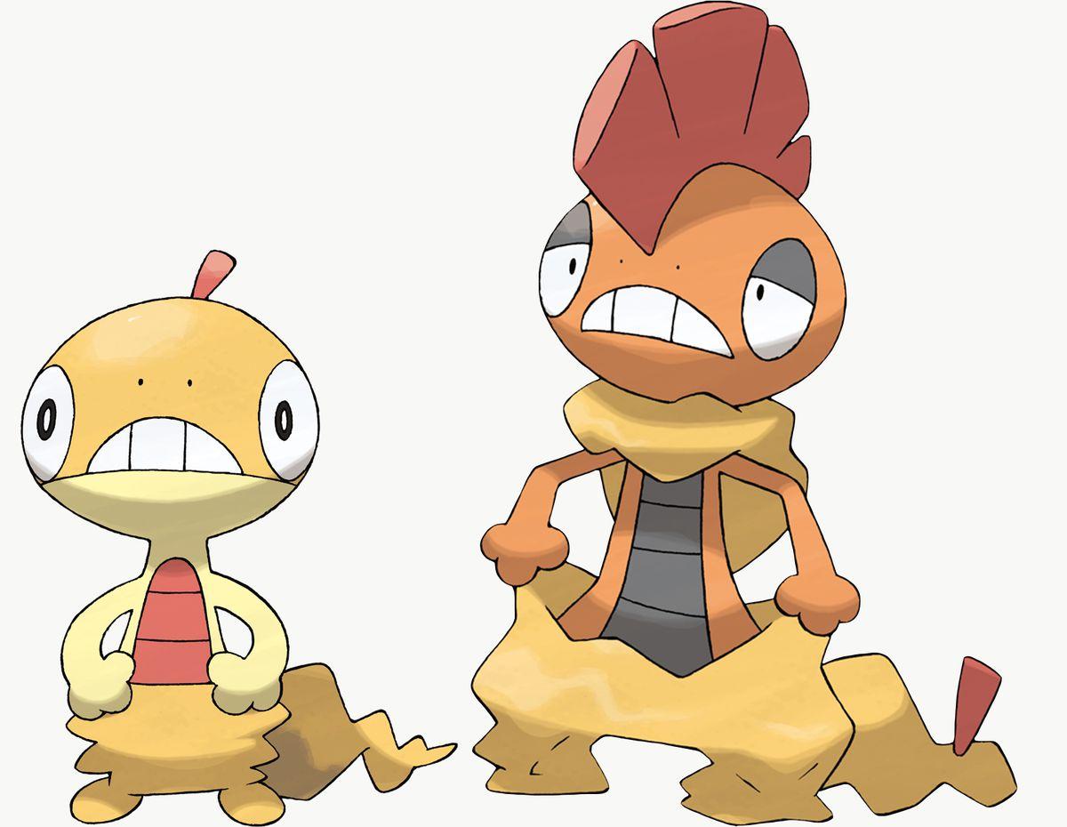 Scraggy y Scrafty son exclusivos de Pokémon Sword