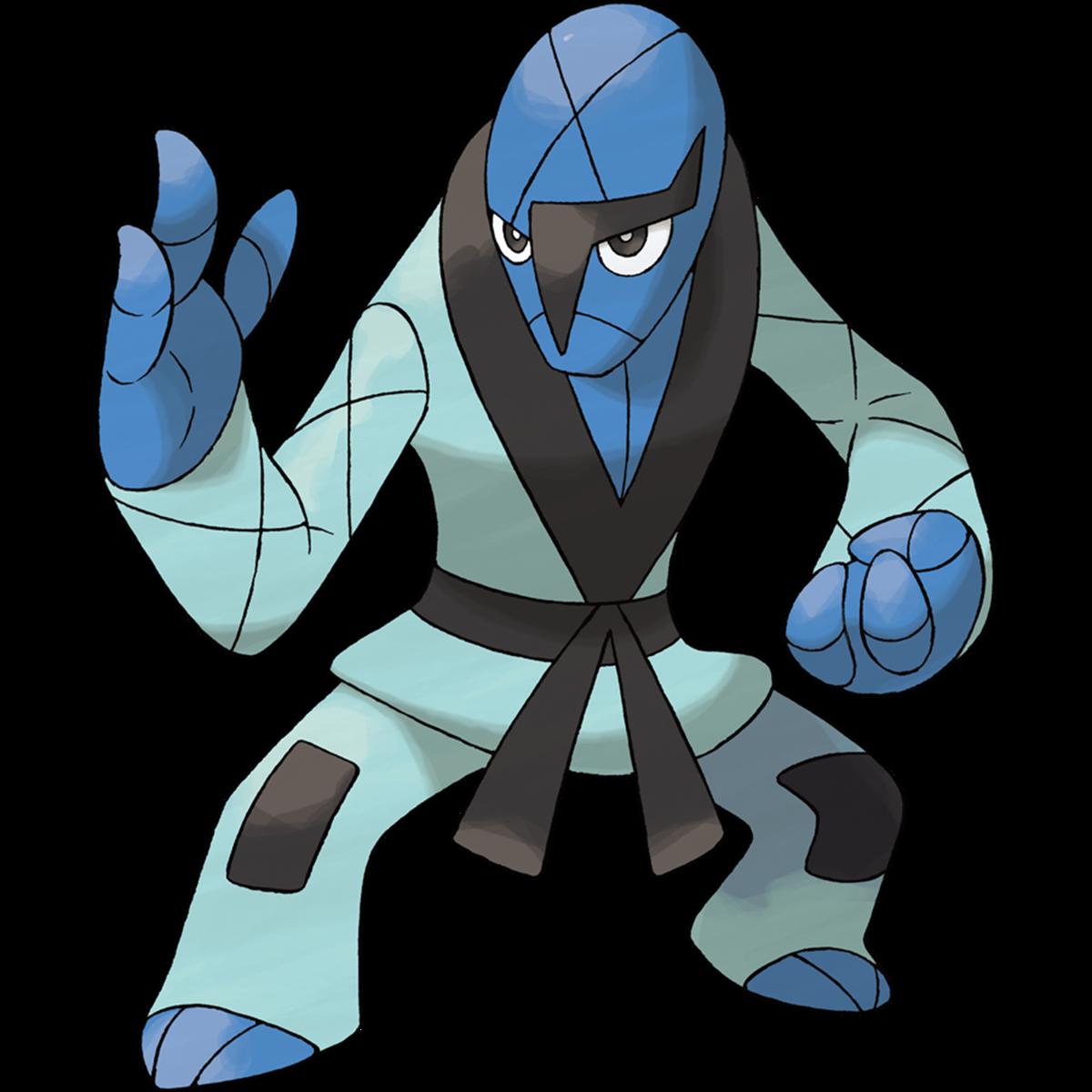 Sawk es exclusivo de Pokémon Sword