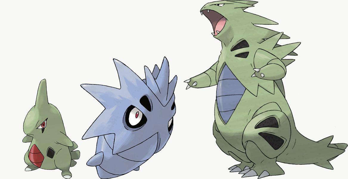 Larvitar, Pupitar y Tyranitar son exclusivos de Pokémon Shield