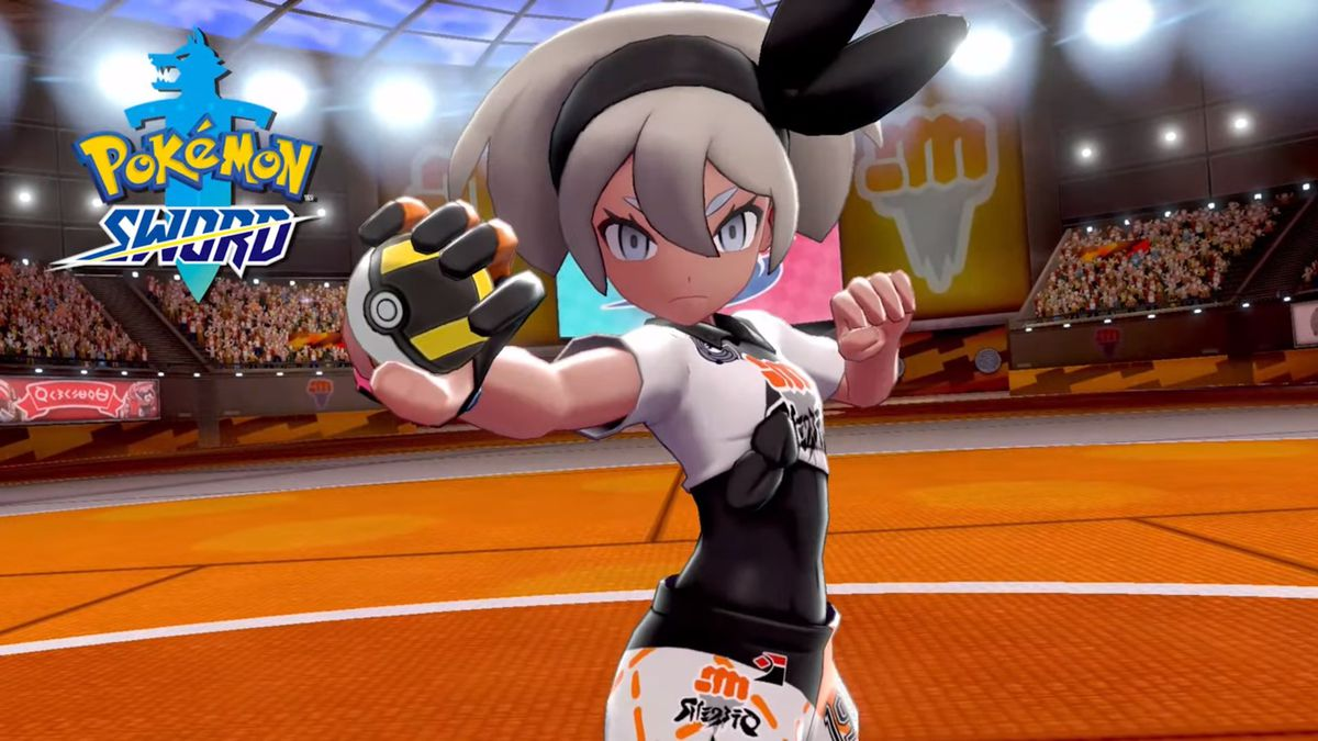 Bea, la próxima líder del gimnasio de lucha de Pokémon Sword and Shield