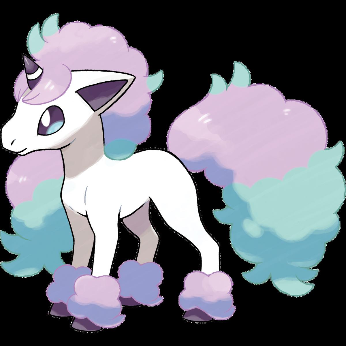 Galarian Ponyta es exclusivo de Pokémon Shield