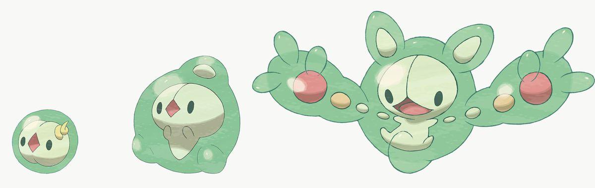 Solosis, Duosion y Reuniclus son exclusivos de Pokémon Shield