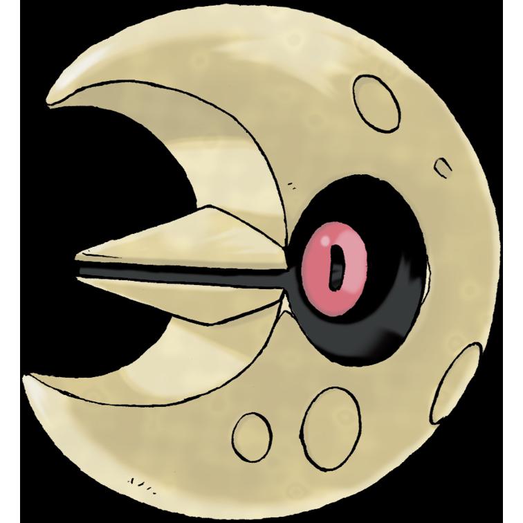Lunatone es exclusivo de Pokémon Shield