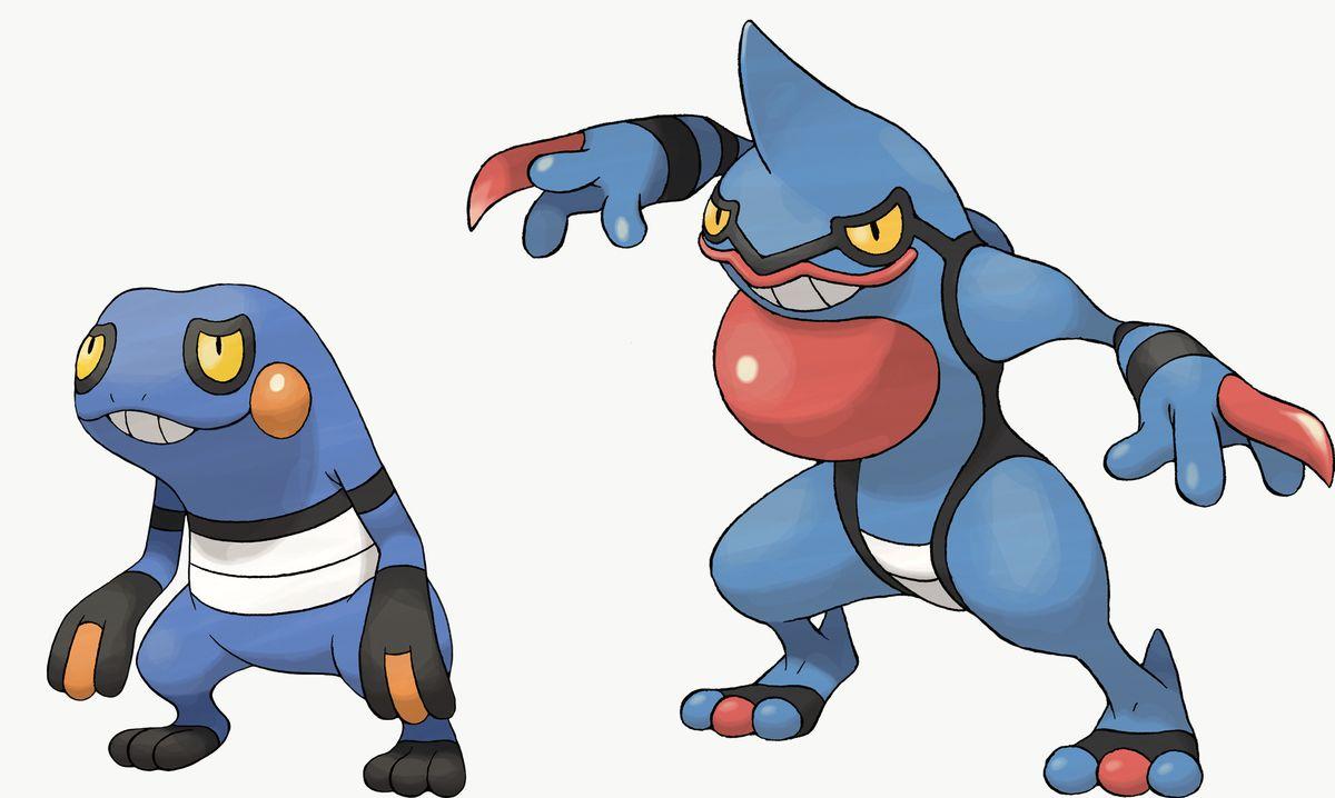 Croagunk y Toxicroak son exclusivos de Pokémon Shield