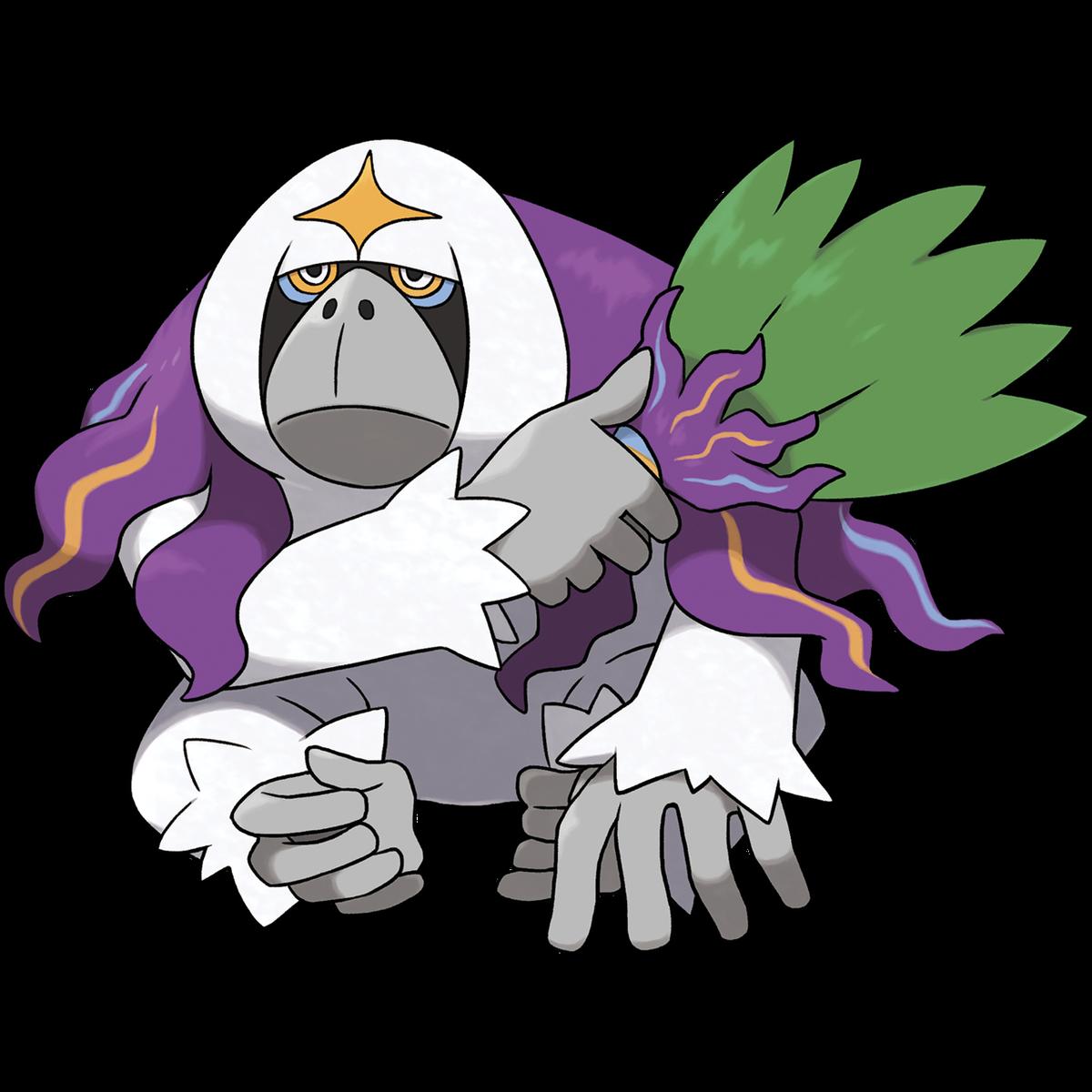 Oranguru es exclusivo de Pokémon Sword