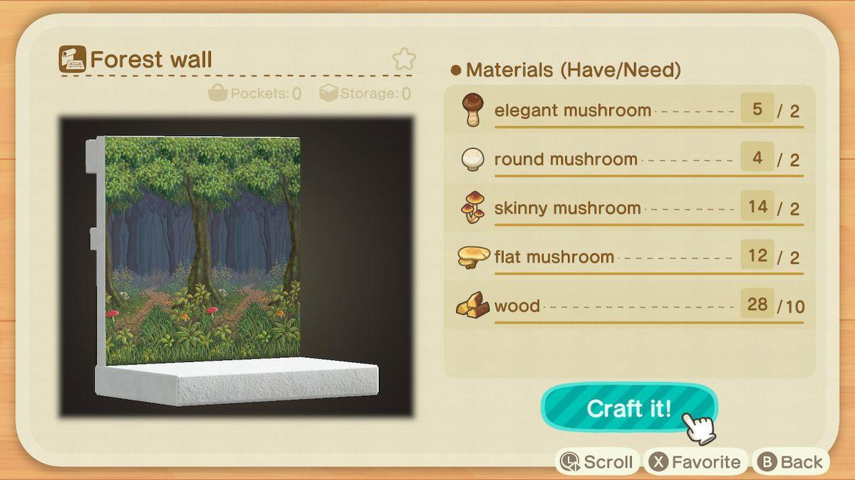 La receta para un muro forestal