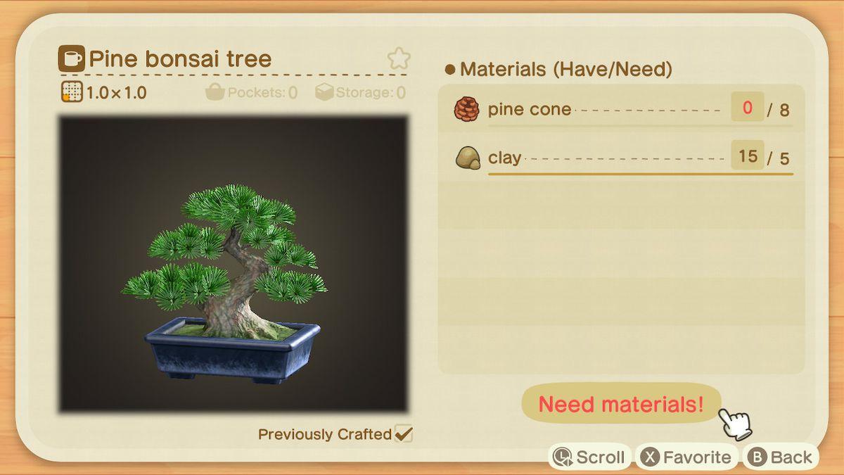 Requisitos de artesanía para un árbol bonsai de pino