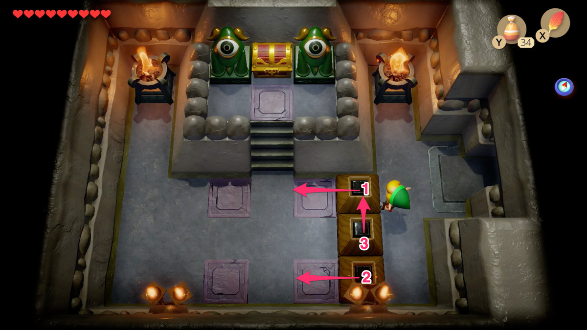 Link's Awakening Color Dungeon abre un camino hacia Nightmare Key
