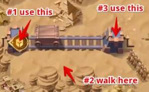 afk arena voyage of wonder los aullidos desperdicios paso a paso 7-3