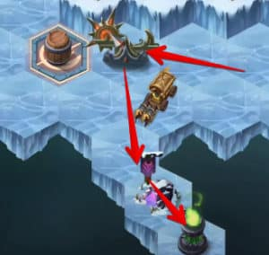 afk arena Frozen hinterland tutorial 2