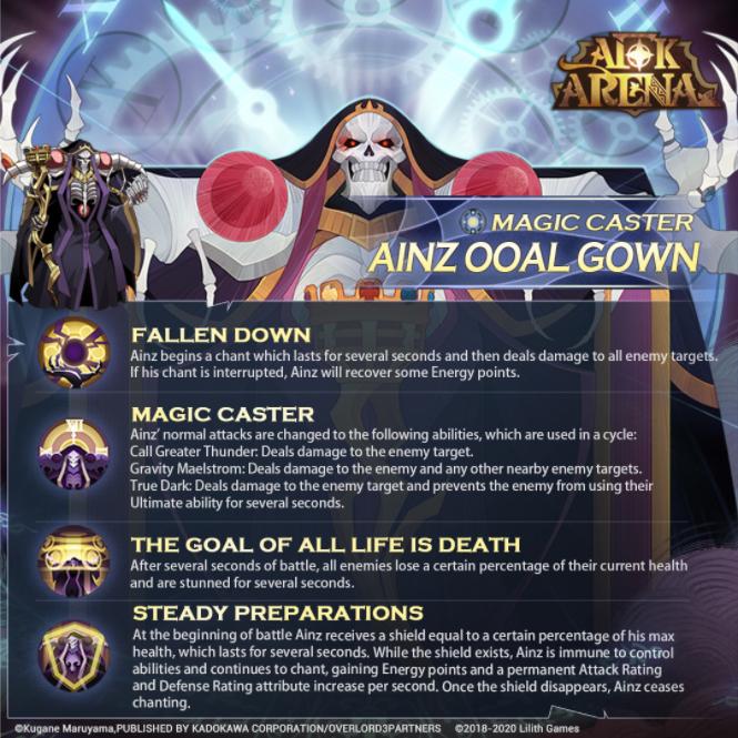 afk arena albedo nuevo héroe