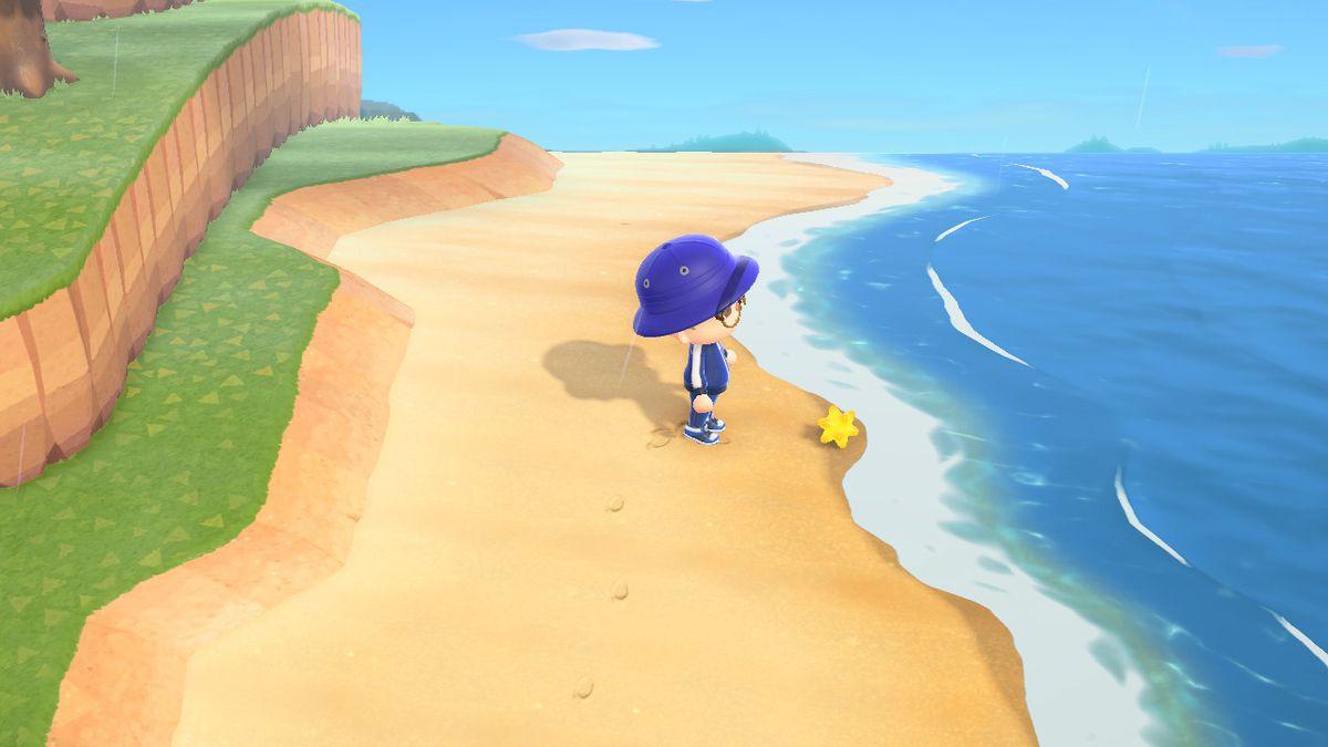 Encontrar un fragmento de estrella en Animal Crossing: New Horizons