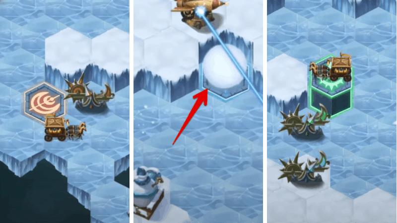 afk arena Frozen hinterland tutorial 6