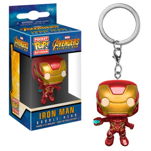 Llavero Pocket POP Marvel Avengers Infinity War Iron Man