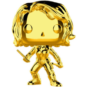 Figura POP Marvel Studios 10 Black Widow Gold Chrome