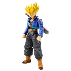 Figura Super Saiyan Trunks Model Kit Dragon Ball Z 14cm