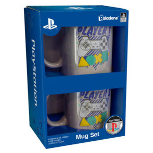 Set tazas Player 1 & 2 Playstation