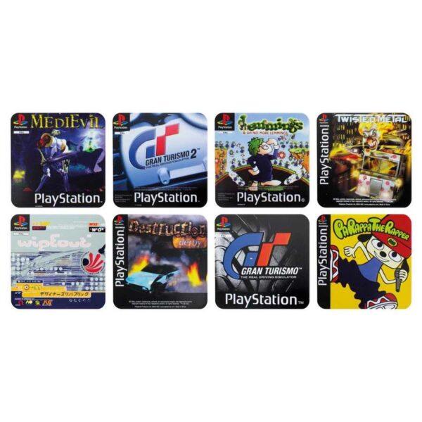 Posavasos Juegos Clasicos Playstation