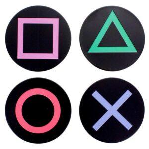 Posavasos botones consola Playstation