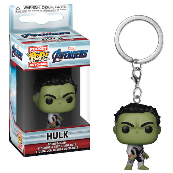 Llavero Pocket POP Marvel Avengers Endgame Hulk