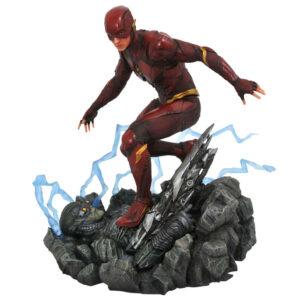 Estatua diorama The Flash Liga de la Justicia DC Comics 23cm