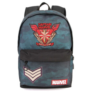 Mochila Capitana Marvel adaptable 42cm