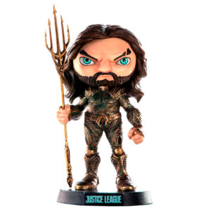 Figura Mini Co Aquaman Liga de la Justicia DC Comics 14cm