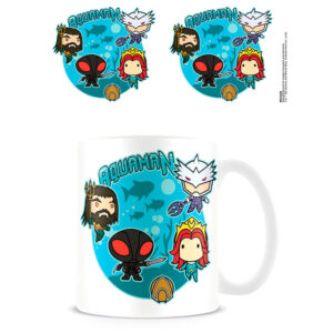 Taza Bubble Battle Aquaman DC Comics
