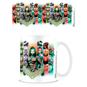 Taza Character Bands Aquaman DC Comics