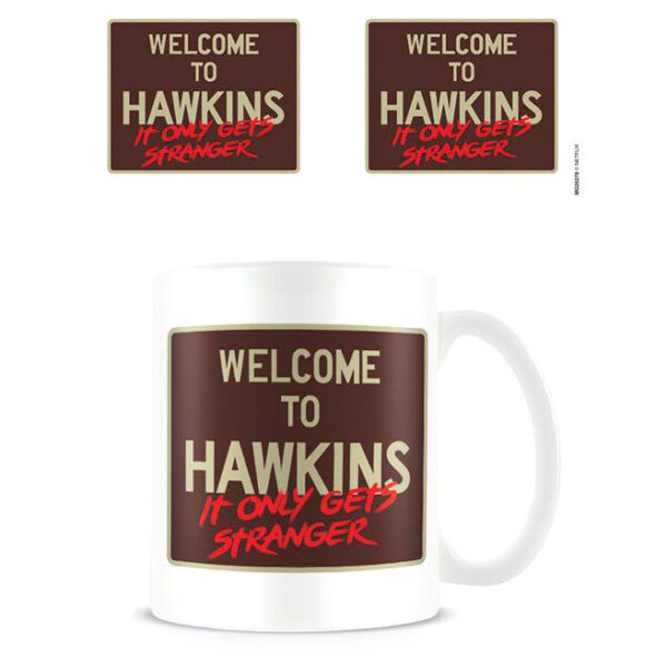 Taza Welcome to Hawkins Stranger Things