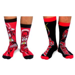 Pack 2 calcetines Flash DC Comics surtido