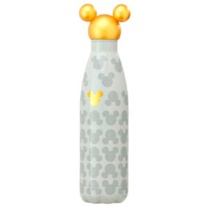 Botella metal Gold Mickey Disney