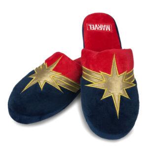 Pantuflas Capitana Marvel mujer