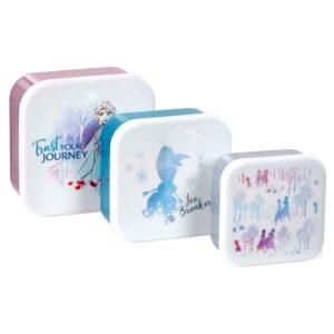 Set 3 tupper Frozen 2 Disney
