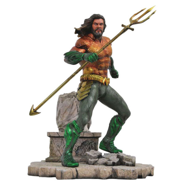 Estatua diorama Aquaman DC Movie Gallery 23cm