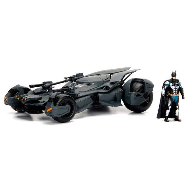 Set figura & coche metal Batmovil La Liga de la Justicia DC Comics