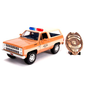 Set Coche metal Chevy K5 Blaze 1980 Stranger Things & placa