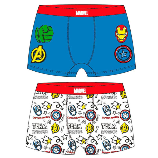 Pack 2 calzoncillos boxer Vengadores Marvel