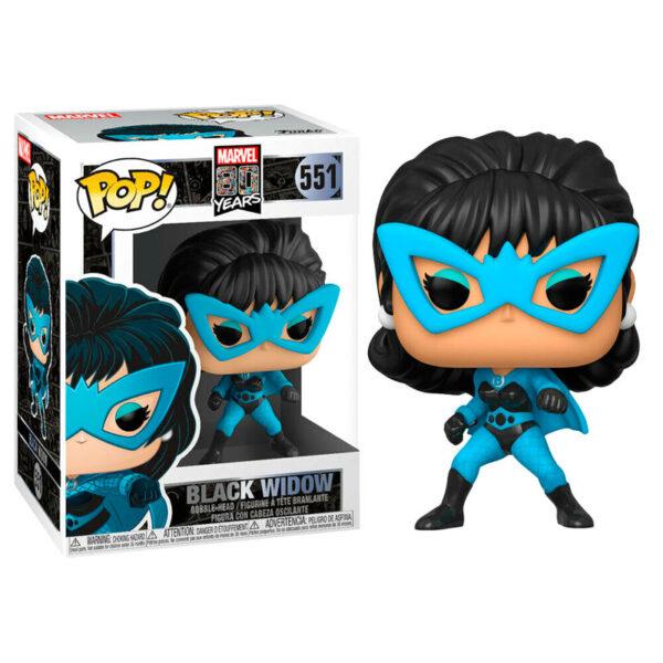 Figura POP Marvel 80th First Appearance Black Widow