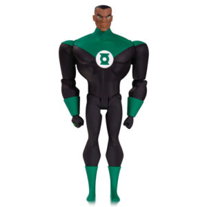 Figura Green Lantern John Stewart Justice League Animated DC Comics 14cm