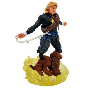 Estatua Longshot X-Men Marvel 30cm