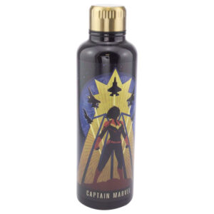 Botella metal Capitana Marvel