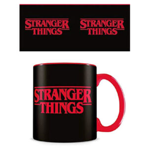 Taza Logo Stranger Things