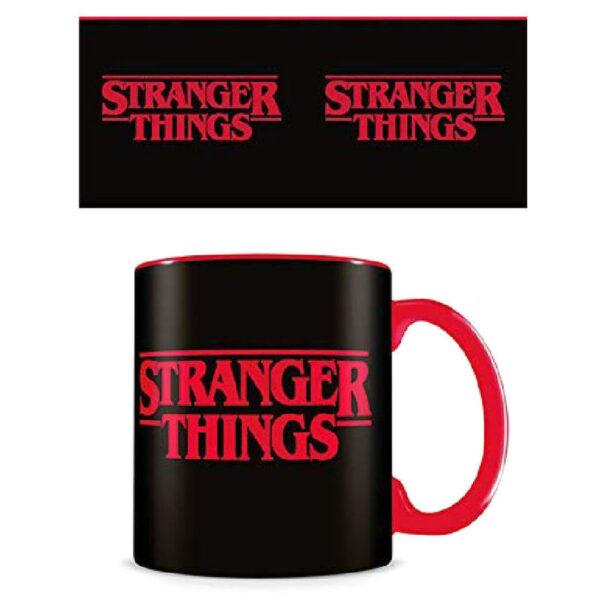 Taza Logo Stranger Things