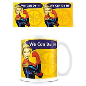 Taza We Can Do It Capitana Marvel