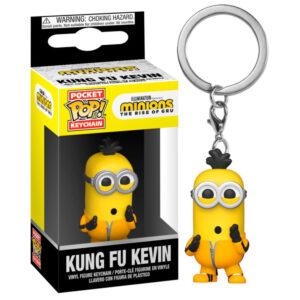 Llavero Pocket POP Minions 2 Kung Fu Kevin