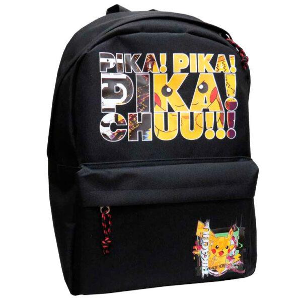 Mochila Pikachu Pokemon 40cm