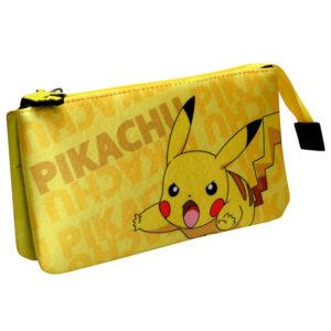 Portatodo Pikachu Pokemon triple